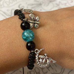 Fairy 🧚♂️ magic ball garden macrame bracelet